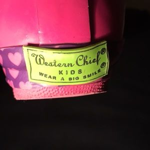 Western Chief Shoes - Girls Rain Boots Hello Kitty